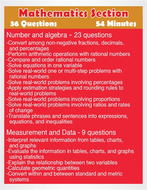 Teas Test Math Study Guide