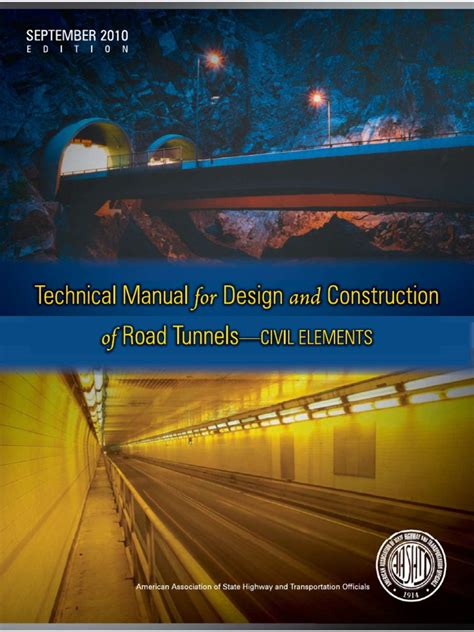 Technical Manual For Design And Construction Of Road Tunnels