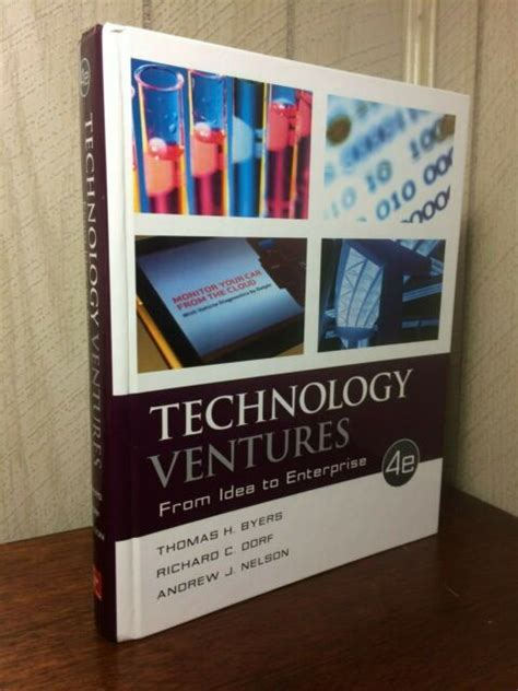 Technology Ventures From Idea To Enterprise English Edition
