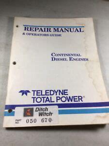 Teledyne Continental Engines Manual
