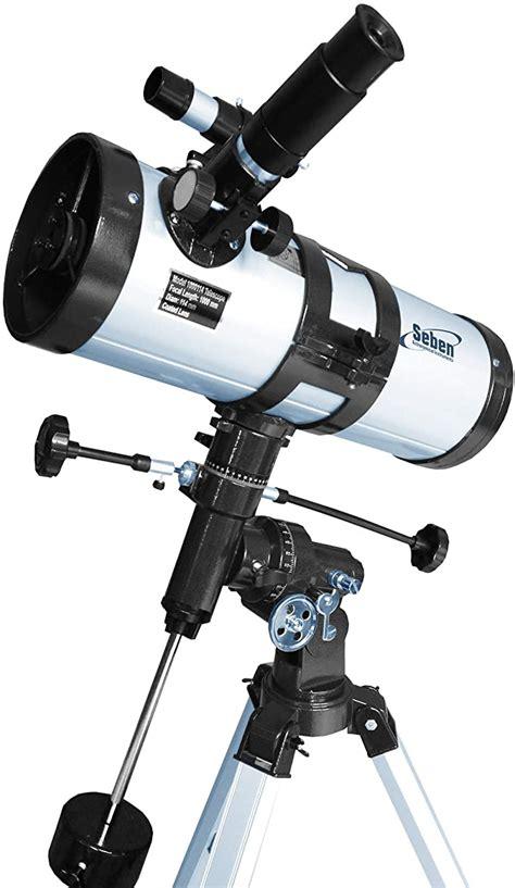 Telescopio Reflector 1000 114 Eq3 De Seben Star Sheriff Incl Big Pack