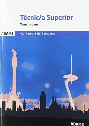 Temari Comu Tecnic A Superior Ajuntament De Barcelona
