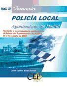 Temario Oposicion Policial Local