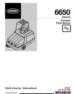 Tennant 6650 Parts Manual