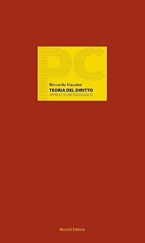 Teoria Del Diritto Approccio Metodologico