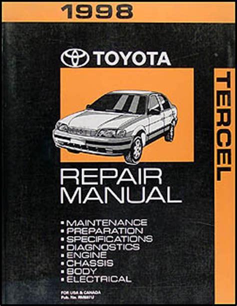 Tercel 1998 Repair Manual