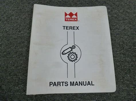 Terex Simplicity Parts Manual