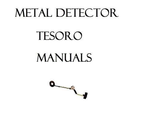 Tesoro Eldorado Manual