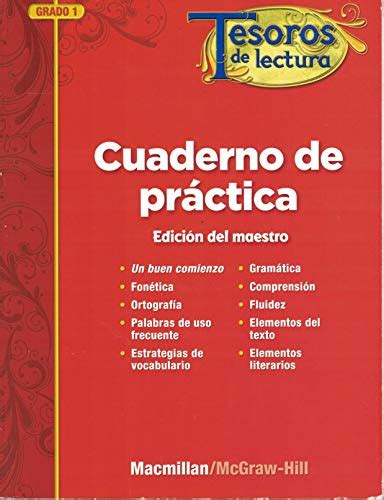 Tesoros De Lectura A Spanish Reading Language Arts Program Grade 6 Practice Book Annotated Teacher S Edition Elementary Reading Treasures