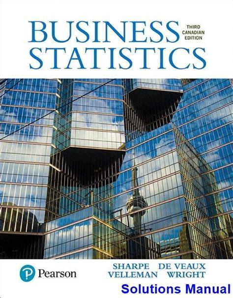 Test Bank Solution Manual Statistic