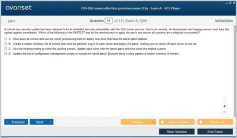 Test CV0-002 Sample Online