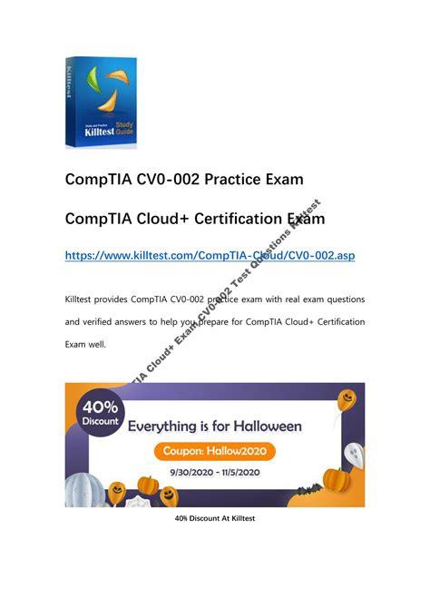 Test CV0-002 Simulator Fee