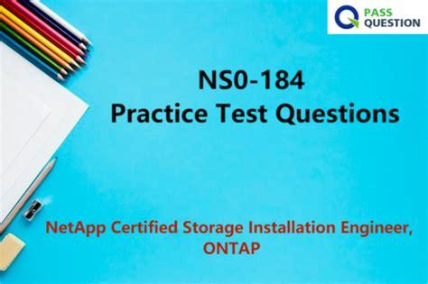 Test NS0-184 Prep