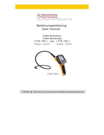 Testo 885 User Manual Bedienungsanleitung