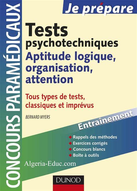 Tests Psychotechniques Aptitude Logique Organisation Attention