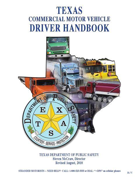 Texas Cdl Manual 2015