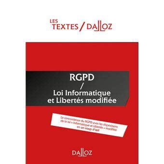 Textes Rgpd Loi Informatique Et Libertes De 1978 Modifiee Nouveaute Protection Des Donnees