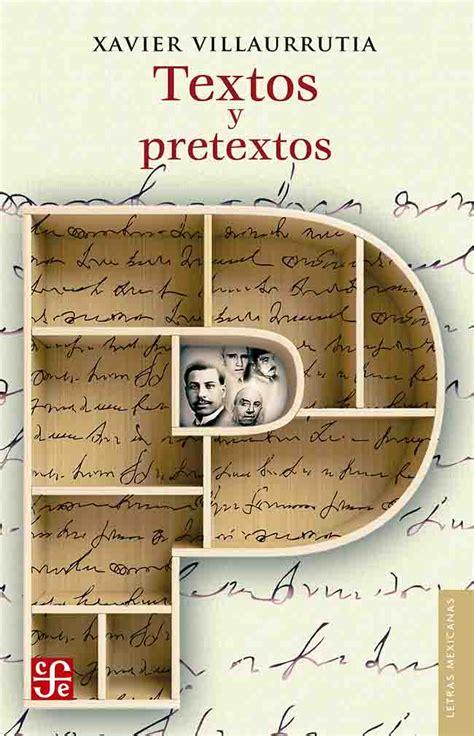Textos Y Pretextos