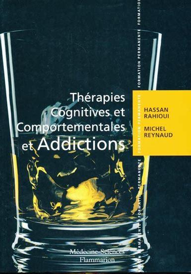 Thérapies cognitives et comportementales et addictions