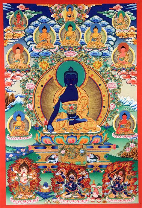 Thangka Buddhist Painting Of Tibet Buddhist Thang Ka Art Of Tibet