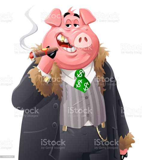 The Fat Rich Pig