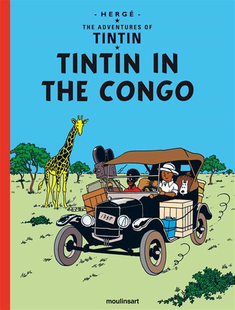 The Adventures Of Tintin Tintin Au Congo Edition En Langue Anglaise