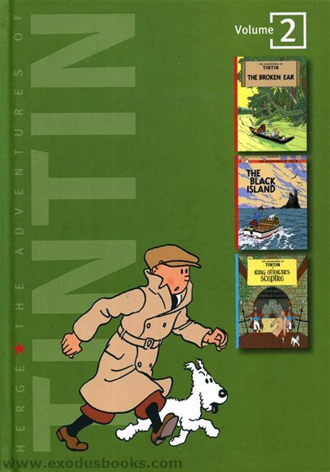 The Adventures Of Tintin Volume 2 Tintin Three In One