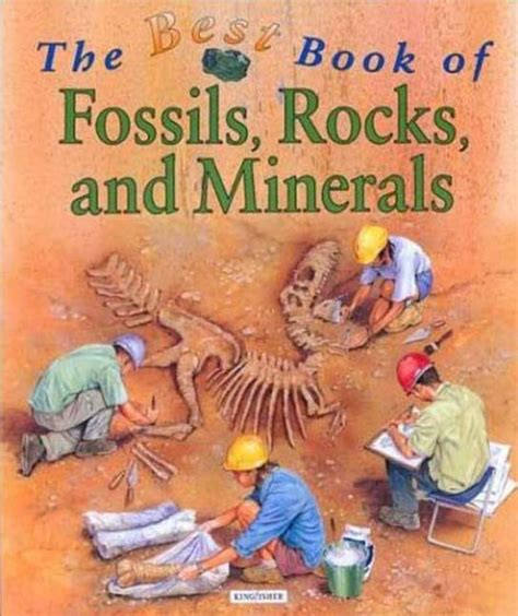 The Best Book of Fossils, Rocks and Minerals (Best Book Of. (Kingfisher))