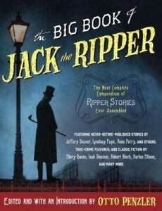The Big Book Of Jack The Ripper Vintage Crime Black Lizard Original English Edition