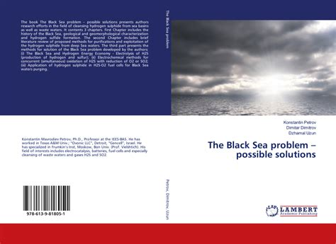 The Black Sea problem - possible solutions
