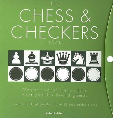 The Chess & Checkers Pack: Master Two of the World's Most Popular Board Games with Gameboard