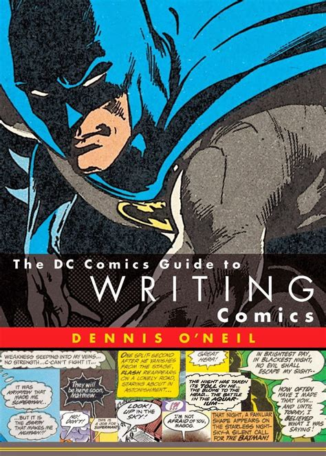 The Dc Comics Guide To Writing