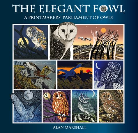 The Elegant Fowl A Printmakers Parliament Of Owls