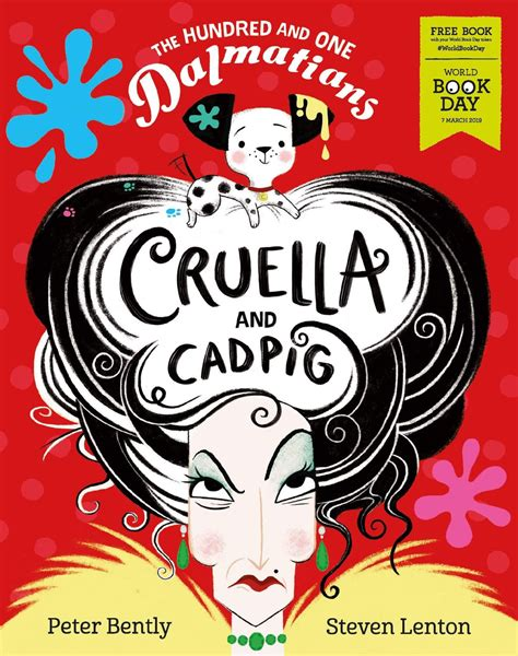The Hundred And One Dalmatians Cruella And Cadpig World Book Day 2019