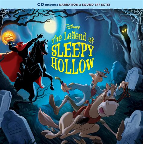 The Legend Of Sleepy Hollow Book And Cd