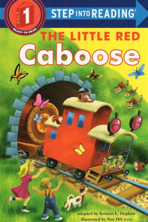 The Little Red Caboose Step Into Reading Step 1