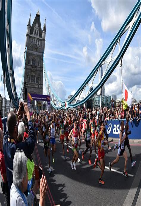 The London Marathon 1993