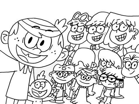 The Loud House Coloring Book