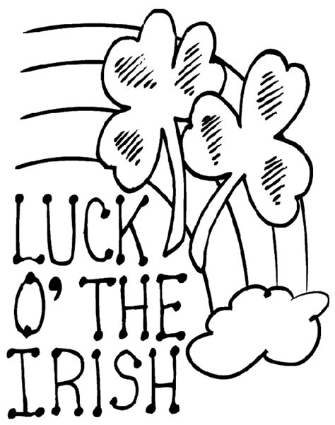 The Luck of The Irish Adult Coloring Book: (Ireland coloring book)