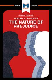 The Nature Of Prejudice The Macat Library English Edition