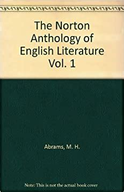 The Norton Anthology of English Literature, Vol 1