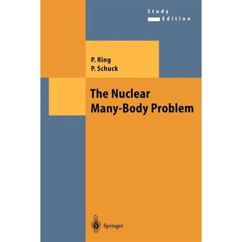 The Nuclear Many Body Problem Theoretical And Mathematical Physics