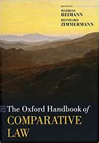 The Oxford Handbook Of Comparative Law Oxford Handbooks