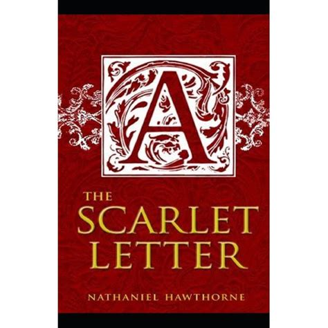 The Scarlet Letter By Nathaniel Hawthorne Illustrated English Edition
