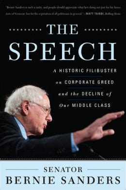 The Speech On Corporate Greed And Th