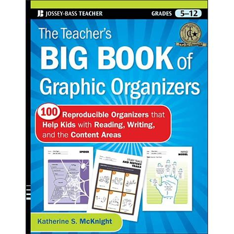 The Teacher S Big Book Of Graphic Organizers Grades 5 12 100 Reproducible Organizers That Help Kids With Reading Writing And The Content Areas Jossey Bass Teacher