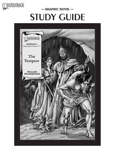 The Tempest Graphic Novel Study Guide Saddleback Educational Publishing