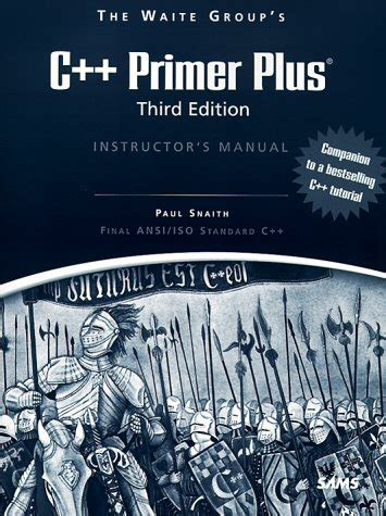 The Waite Groups C Primer Plus Instructors Manual
