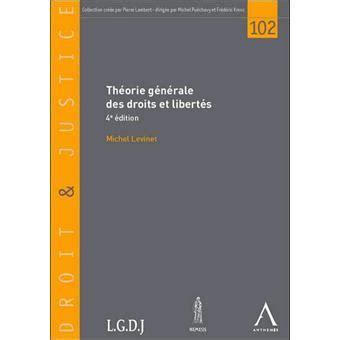 Theorie Generale Des Droits Et Libertes