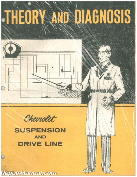 Theory And Diagnosis Chevrolet Suspension And Drive Line Manual 1971 St 337 71